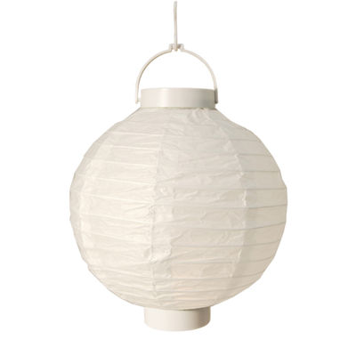 "Battery Operated Paper Lanterns 8"" (Set of 3)"""