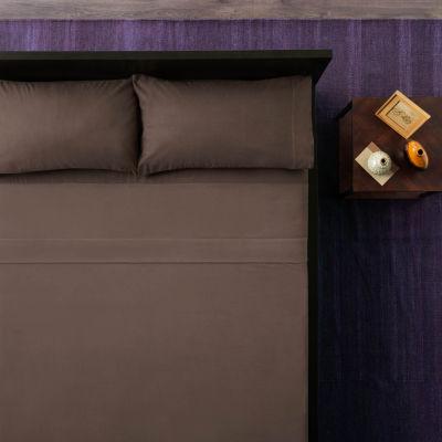 Malouf Woven Portuguese Flannel Sheet Set