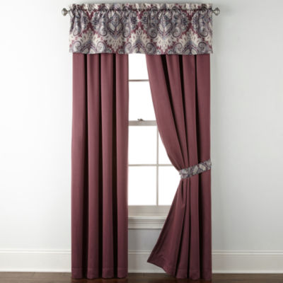 Home Expressions Chelsea Rod-Pocket Curtain Panel