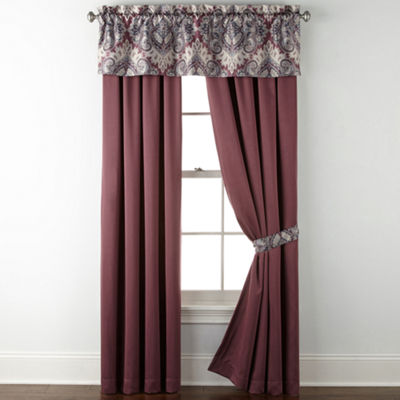 Home Expressions Chelsea 2-Pack Rod-Pocket Curtain Panel