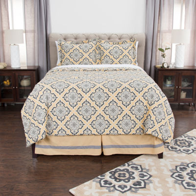 Andrew Charles By Rizzy Home Bella Medalliom Comforter Set