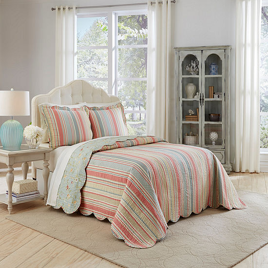 Waverly Garden Glitz 3-pc. Bedspread Set