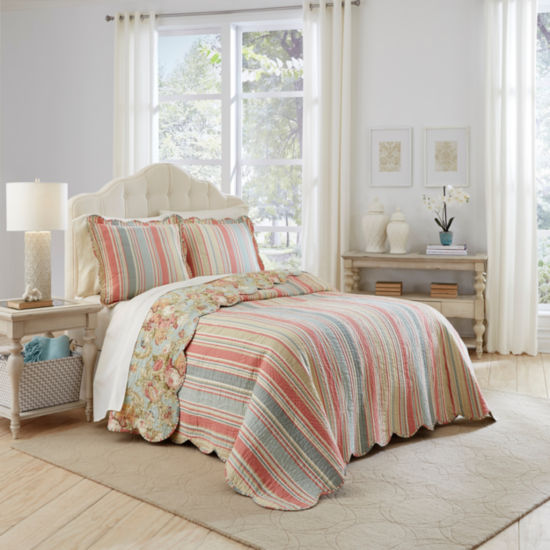 Waverly Spring Bling 3-pc. Bedspread Set