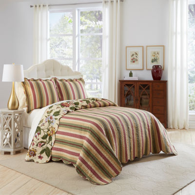 Waverly Laurel Springs 3-pc. bedspread Set