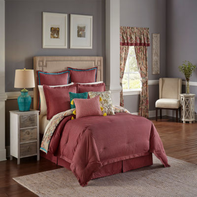 Waverly Key Of Life 4-pc. Floral Reversible Comforter Set