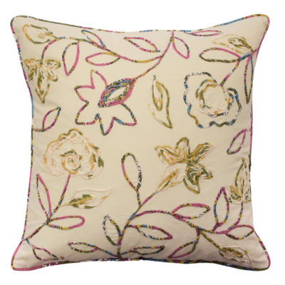 Waverly Key Of Life Square Throw Pillow