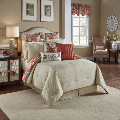 Waverly Brighton Blossom 4-pc. Comforter Set