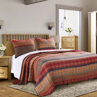 Greenland Home Fashions Gold Rush Quilt Set
