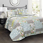 Lush Décor Roesser 3PC Quilt Set