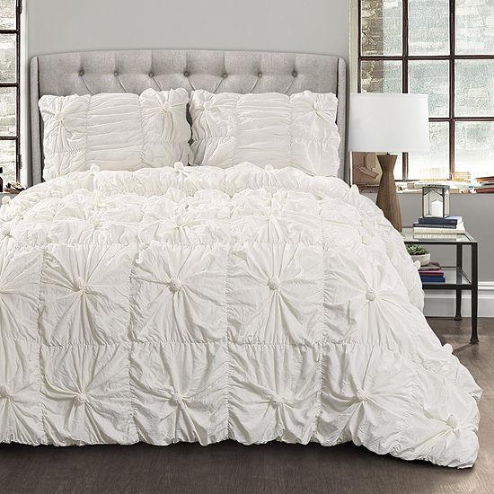 Lush Décor Bella 3pc Comforter Set