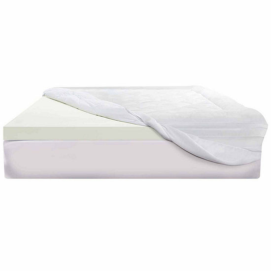"Sealy 3"" Memory Foam Mattress Topper"