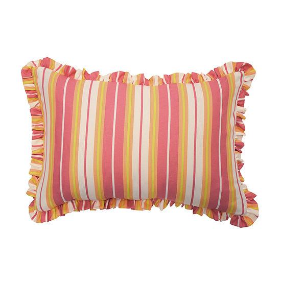 Waverly Wild Card 12X18 Rectangular Throw Pillow