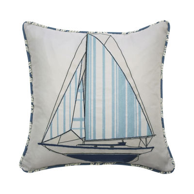 Waverly Set Sail 15X15 Square Throw Pillow