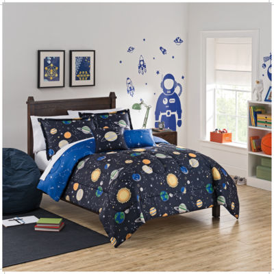 Waverly Space Adventure Reversible Comforter Set