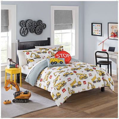 Waverly Under Construction Reversible Comforter Set
