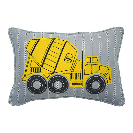 Waverly Under Construction 12X18 Rectangular Throw Pillow