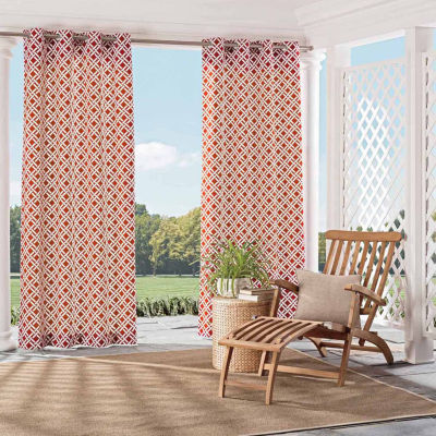 Parasol St.Kitts Grommet-Top Curtain Panel