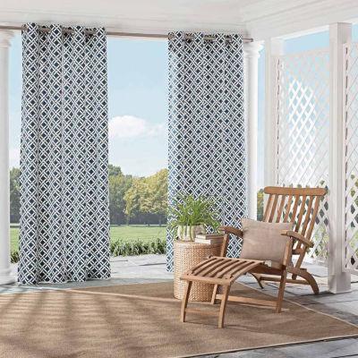 Parasol St.Kitts Grommet-Top Curtain Panel