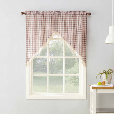 Maisie Rod-Pocket Tailored Valance