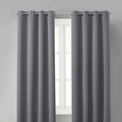 Wonder Home Foster Solid Blackout Grommet Panel