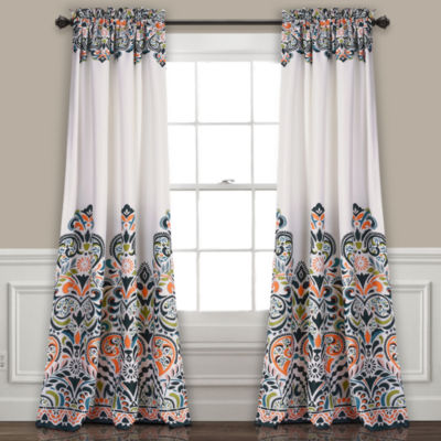 Half Moon Clara Room Darkening Window Curtain Set