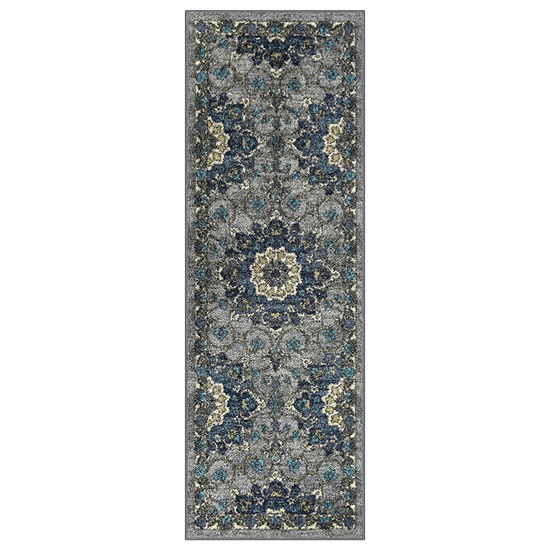 Maples Aspen Printed Rectangular Runner Rugs