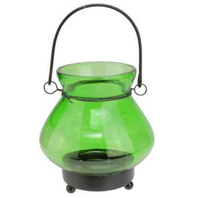 "4.75"" Transparent Mini Tea Light Candle Lantern Decoration"""