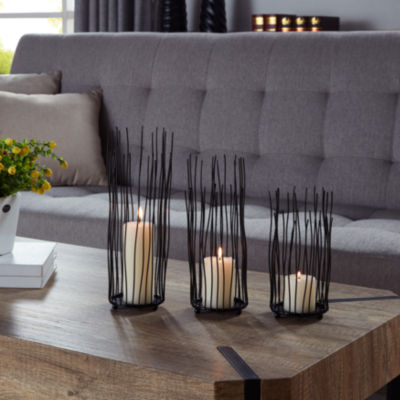 Danya B. Willow Iron Candleholder 3-piece Set