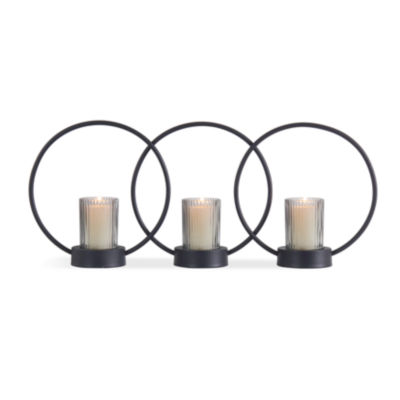 Danya B. Set of 3 Ring Votive Candle-Holders