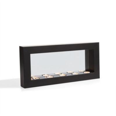 Danya B. Horizontal Mirror Tealight Candle Sconcewith Metal Frame