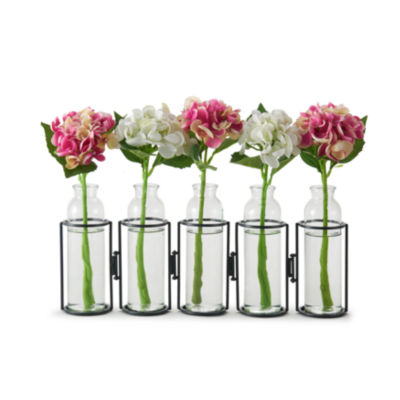 "Danya B. 8"" Hinged 5 Bottle Vase"