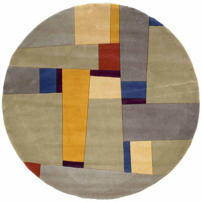 Momeni New Wave 23 Hand Tufted Round Rugs