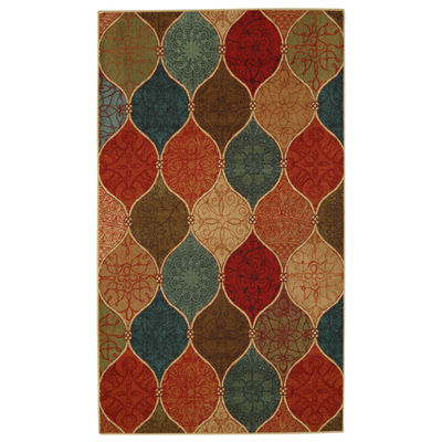 Mohawk Home Soho Riza Tile Fret Printed Rectangular Indoor Rugs