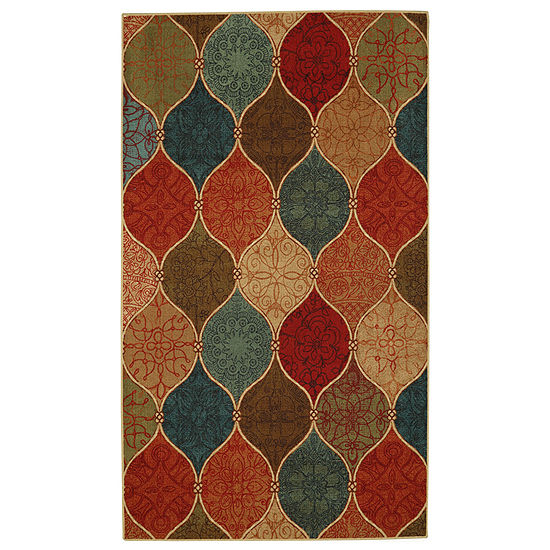 Mohawk Home Soho Riza Tile Fret Printed Rectangular Indoor Rugs