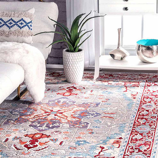 nuLoom Persian Medallion Caterina Rug
