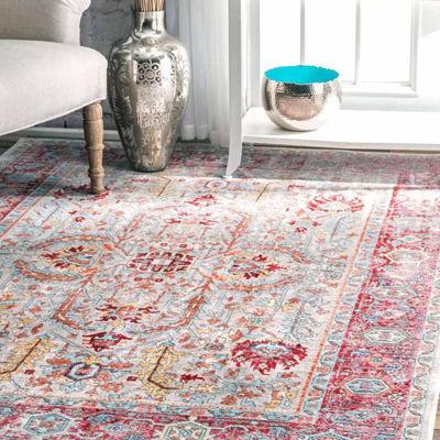 nuLoom Vintage Persian Edra Rug