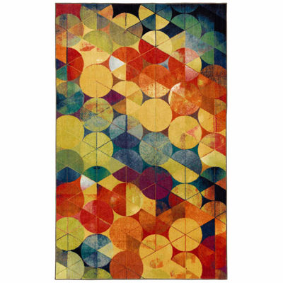 Mohawk Home Aurora Full Circle Rectangular Indoor Rugs