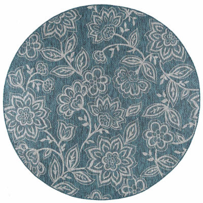Veranda Venice Round Transitional Area Rug