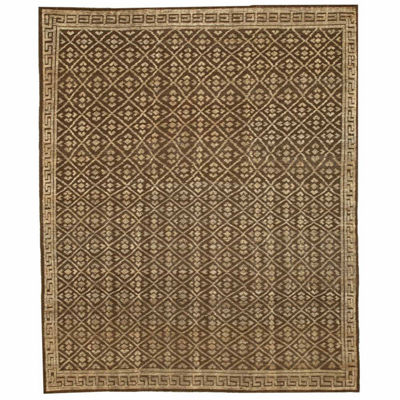 Eastern Rugs Hand-knotted Transitional Oriental Kotan Rug