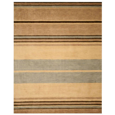 Eastern Rugs Hand-tufted Contemporary Stripe AldenRug