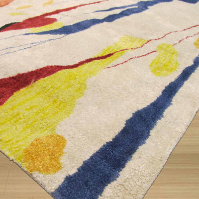 Eastern Rugs Hand-tufted Contemporary Abstract Bamboo Picaso Rug