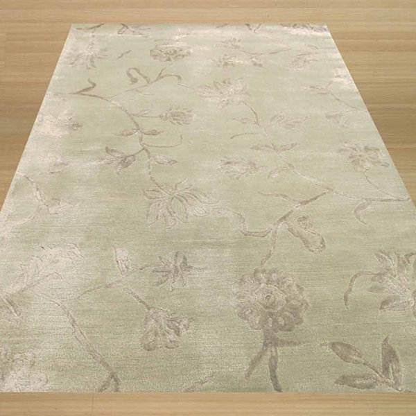 Eastern Rugs Hand-tufted Transitional Floral Beatrice Rug