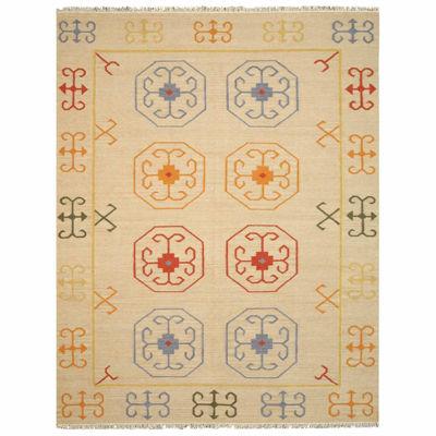 Eastern Rugs Handmade Traditional Oriental Reversible Suzani Kilim Rug