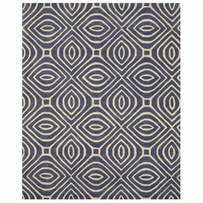 Eastern Rugs Hand-tufted Contemporary Geometric Marla Rug