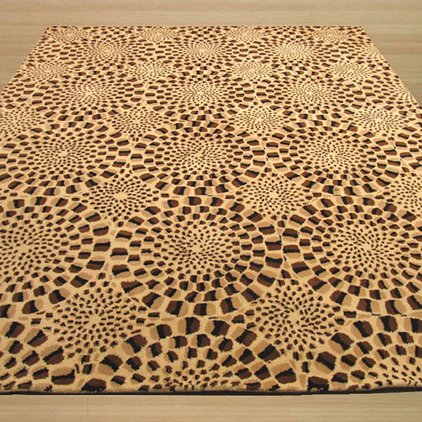 Eastern Rugs Hand-tufted Contemporary Abstract Modern Animal Skin Rug