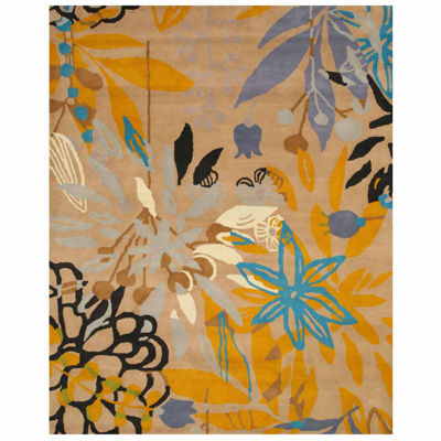 Eastern Rugs Hand-tufted Contemporary Floral Chantrell Rug