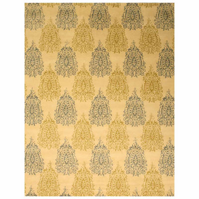 Eastern Rugs Hand-tufted Transitional Abstract Royal Paisley Rug