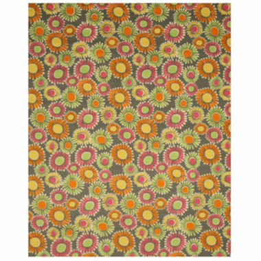 Eastern Rugs Machine-Made Transitional Floral Clarissa Rug