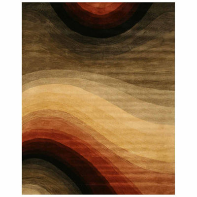 Eastern Rugs Hand-tufted Contemporary Abstract Desertland Rug