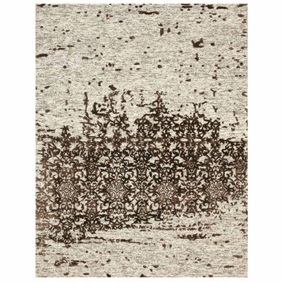 Eastern Rugs Hand-tufted Transitional Trellis Erase Rug